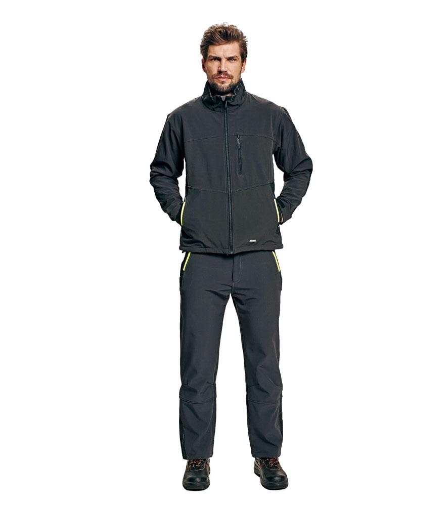 ... Olza szürke softshell kabát.    4e42978df7