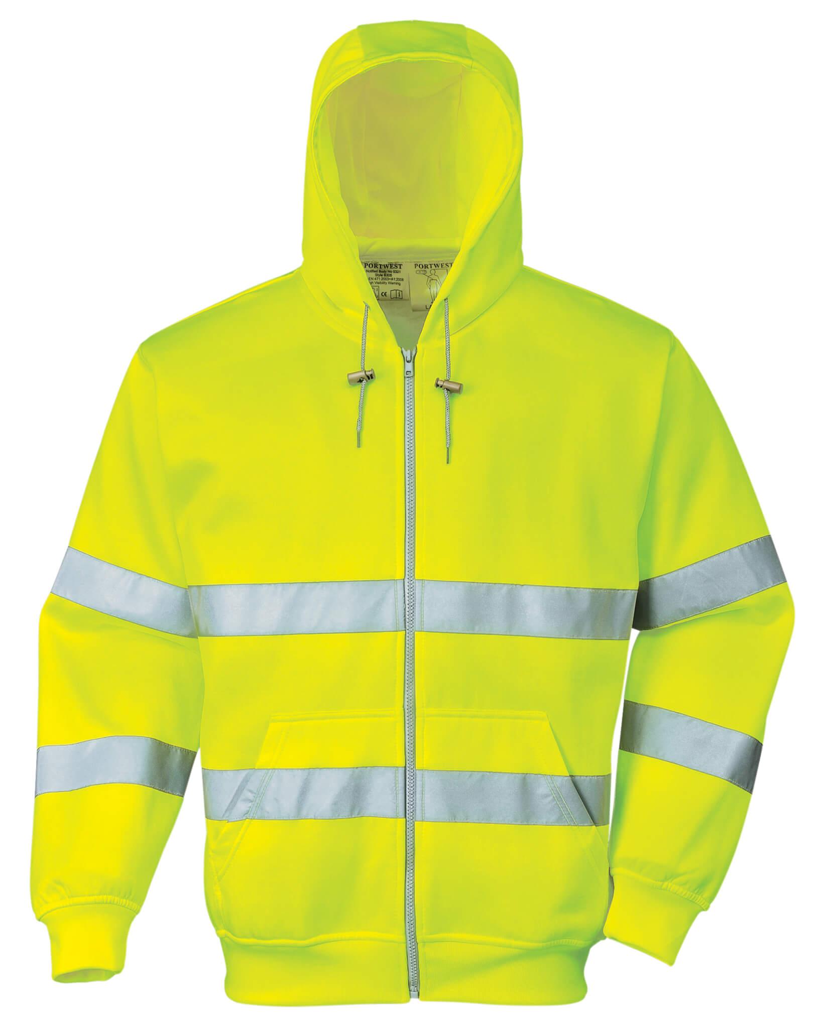 Főoldal Munkaruha Jólláthatósági ruházat Láthatósági pulóver PORTWEST HiVis  zippzáros fluo sárga pulóver.    28830041ae