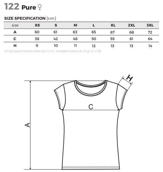 7f5a3ed647 ADLER Női pólók Pure | Védőfelszerelések.hu