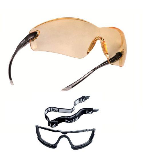 cobra sárga sport szemüveg