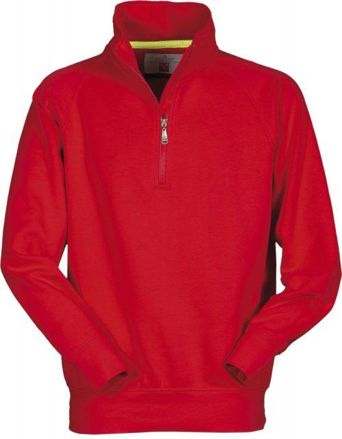 Payper gyerek felzipzaros pulover Zico piros