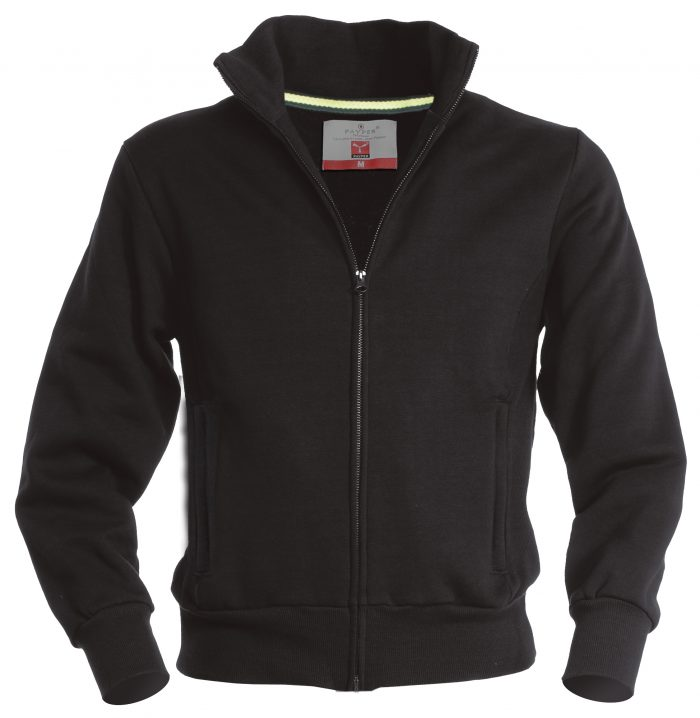 Payper noi zipzaros pulover Class fekete