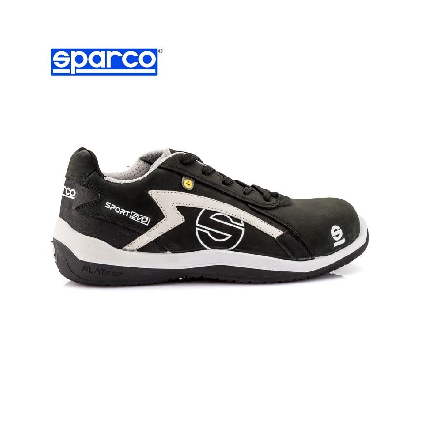 039265184275 Sparco Sport Evo munkavédelmi cipő S3 ESD (fekete szürke) |  Védőfelszerelések.hu