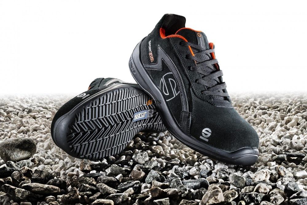 360c38c04d9e Sparco Sport Evo munkavédelmi cipő S1P (azúrkék-fluozöld ...
