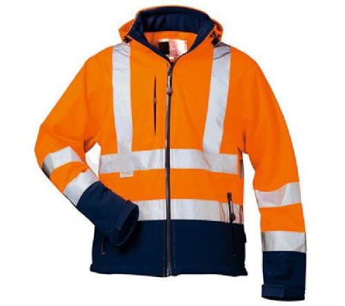 dd43582acb Burgia HIVIS levehető ujjú Softshell dzseki